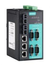 Преобразователи NPort со встроенным Ethernet-коммутатором
